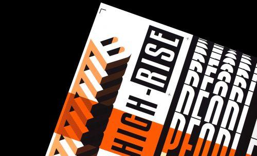 People Concrete Jungle Modern Brutalist Typographic Editorial Spread