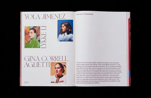 romance journal magazine editorial photography design layout