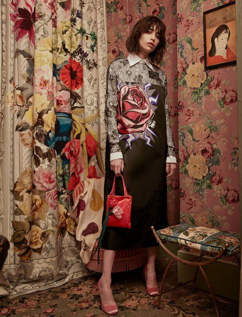 Villa des Lys Floral Fashion Design Photograph