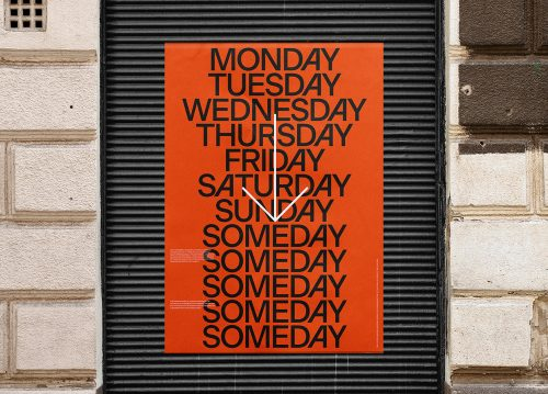 Covid-19 Coronavirus What a Wonderful World Modern Minimal Brutalist Poster Design – Monda ...