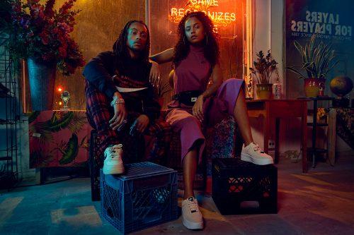 NIKE women's footwear sneaker gel light street fashion photography