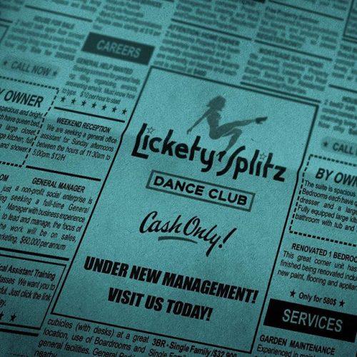 Netflix Ozark Social Campaign – Lickety Splitz Dance Club Newspaper Ad