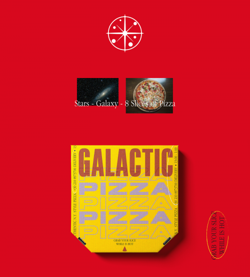Galactic Pizza in New York – Out of this world – Packaging Design