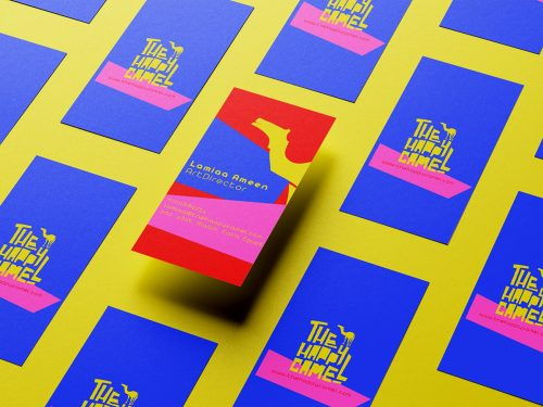 The Happy Camel Branding and Poster Design
