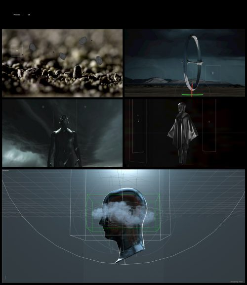 STORM 3D Minimal Design – Lightning Storm