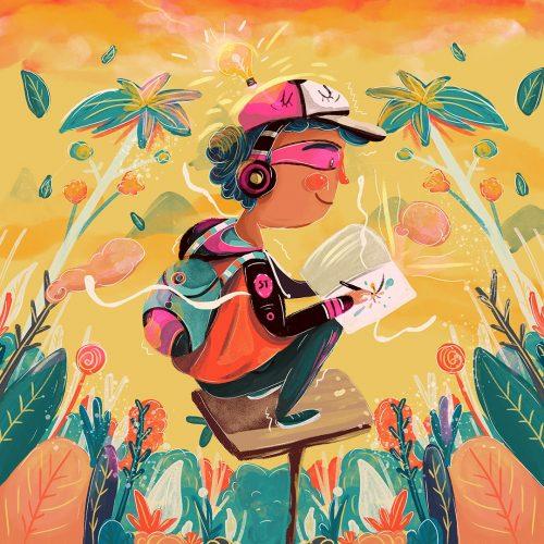 Illustrations for Adobe Stock Latinoamérica by Andreaga