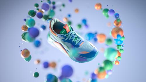 Puma RS-X Running Sneaker Footwear Shoes Mesmerizing 3D Design