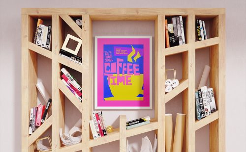 The Happy Camel Branding and Poster Design – Coffee Time