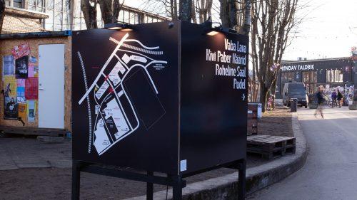 Tallinn Music Week 2019 Brutalist Style Poster Designs