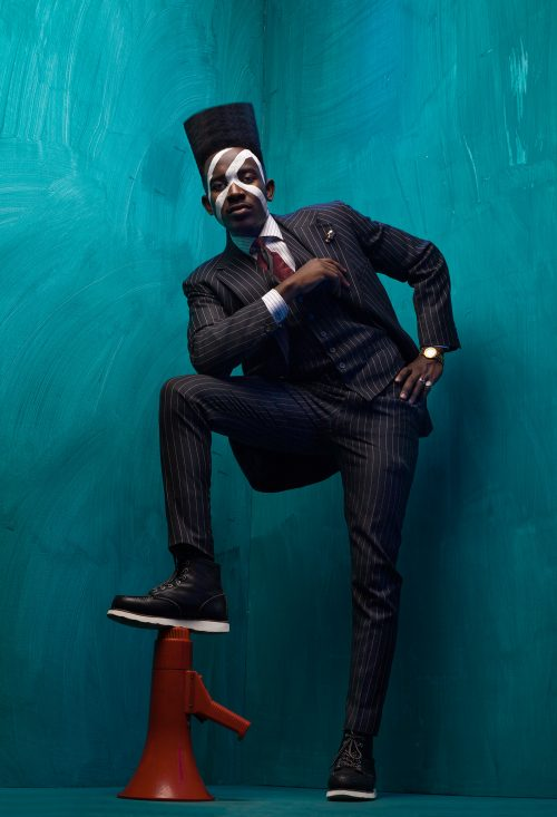 A DAPPER BROTHER – Black Fashion Portrait Photography