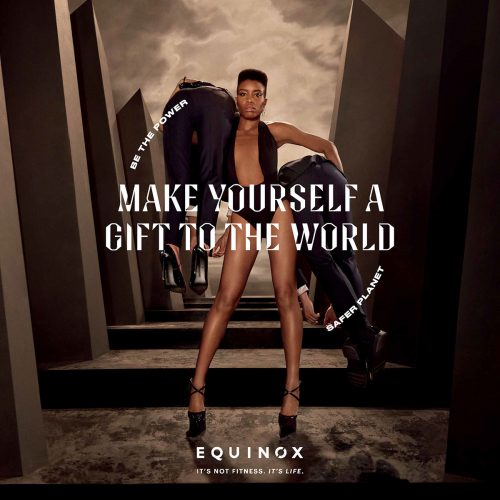 Equinox – Make Yourself A Gift To The World Advertisement Photography