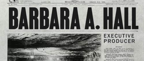 Monuments Men Newspaper Editorial Title Sequence Credits Style Frames