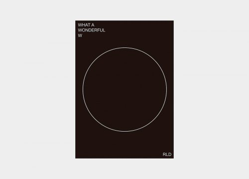 Covid-19 Coronavirus What a Wonderful World Modern Minimal Brutalist Poster Design – What  ...