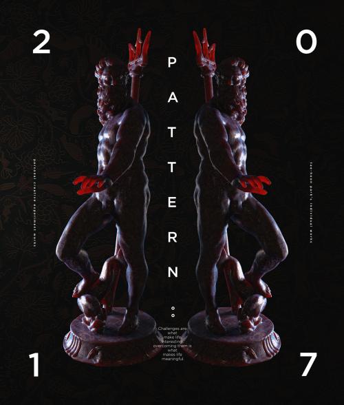 PATTERN 3D Bodies C4D