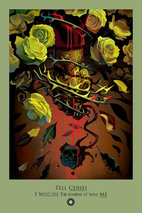 HBO Game of Thrones – Beautiful Death – Illustrations Summarizing Episodes – I ...