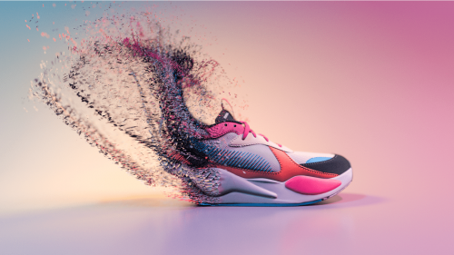 Puma RS-X Running Sneaker Footwear Shoes Mesmerizing 3D Design