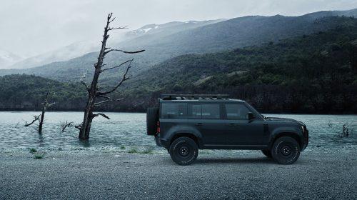 Land Rover Defender Patagoina Argentina Landscape Automobile Car Photograpy