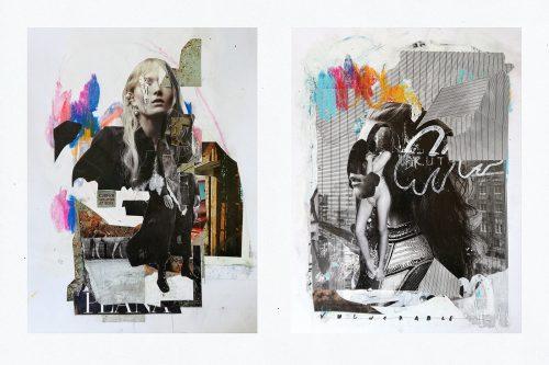 Analog Collage Design