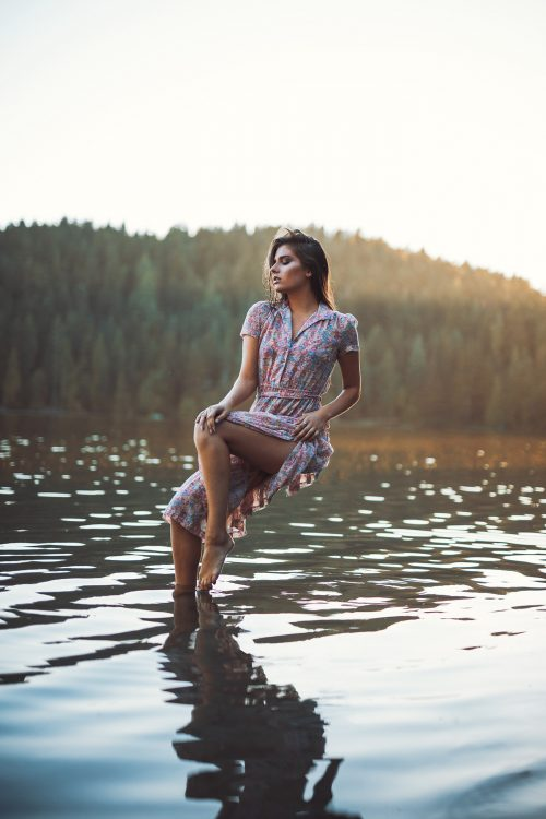 Women and Water – Levitation Photography