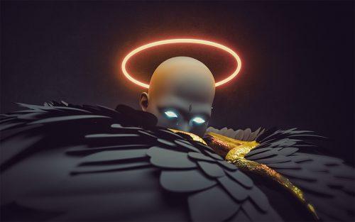 Dark Angel – C4D and Photoshop