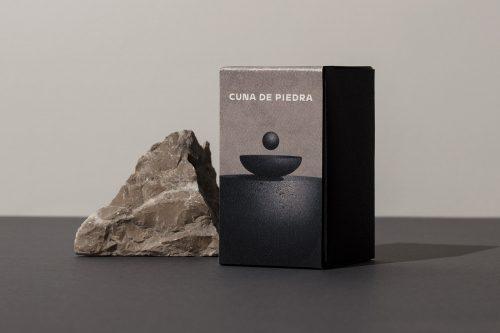 Cuna de Piedra Mexican Chocolate Packing Design