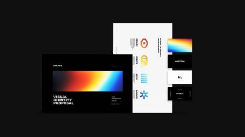 HYKAVY. Personal Brand Design Gradient Spectrum