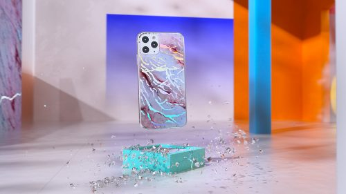 FUNDA Apple Iphone Watch Airpods Vaporwave Product Design 3D CGI and Photography