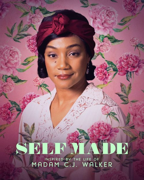 JACQUELINE MANOHARAN – Self Made Floral Portrait Posters Alternate Character Key Art ̵ ...