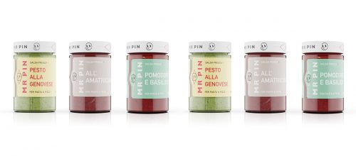 Mr Pin Salsa Fresca Minimal Packaging Design