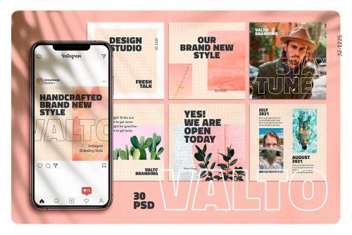 VALTO – Instagram Branding Template