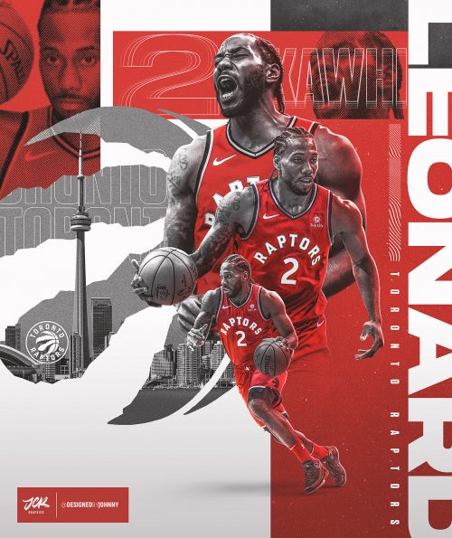 2019 – It's all about sports – NBA Basketball – Raptors