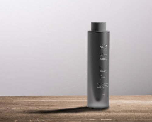 Belif Cosmetic Bottle Product Photography