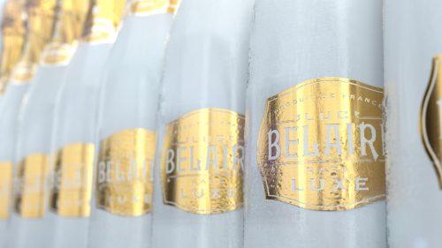 Luc Belaire Wine Product Design 3D Style Frames