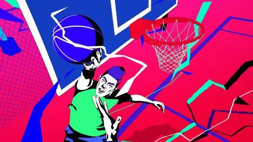 Under Armour DSG+Lightning Basketball Cell Shading Style Frame Illustrations