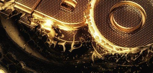 HBO Gold 3D Splash Screens