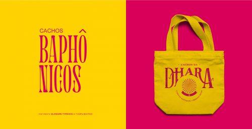 Dhara curls – Brand Identity packaging design