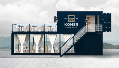 KOMER Coffee Roasting Co – Branding, packaging design and identity