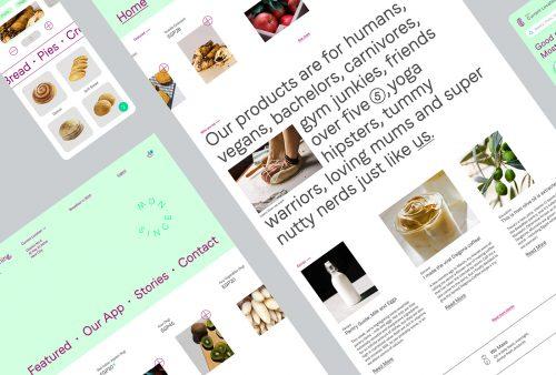 Breadfast Bakery Design Rebrand