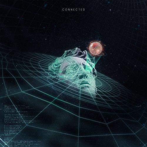 Analog Digital Holographic Vaporwave Glitch Graphics – connected grid