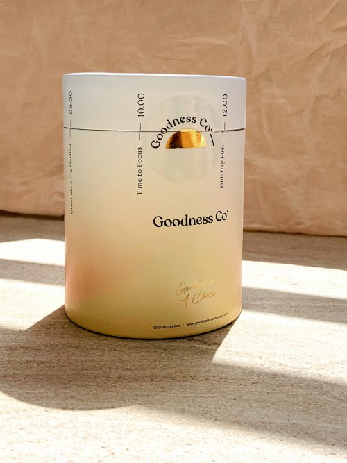 Goodness Co. – Branding & Packaging Design and Photography