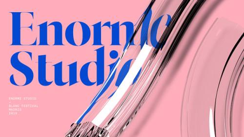 Made by Quim Marin Studio – Minimal Brutalist Typographic Design
