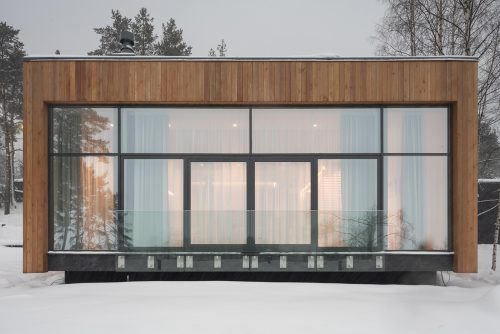 HOUSE ON THE BANK – Modern Architectural Photography