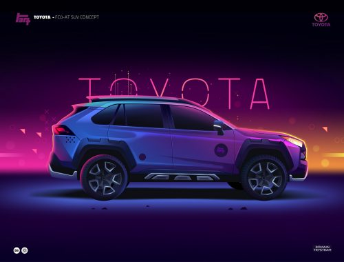 Illustrations by Romain Trystram – Toyota