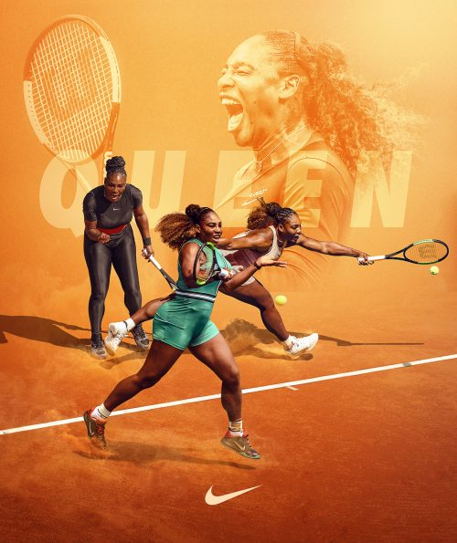 2019 – It's all about sports – Tennis Queen Nike
