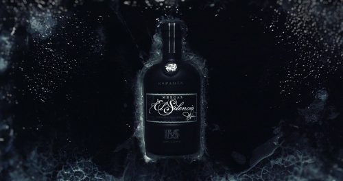 Black Ice Dark Product Photography Mezcal El Silencio