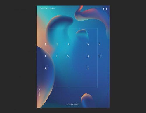 Remind Studio Gradient Poster Series – Healing Space