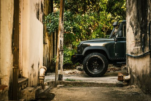 Land Rover Defender in Georgetown, Penang Car Automobile Photography