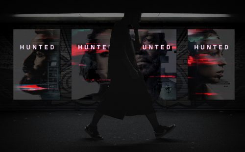 CBS Hunted Glitch Key Art Character Posters