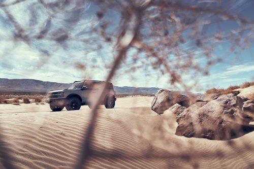 Ford Bronco SUV 2020 Desert Automobile Car Photography
