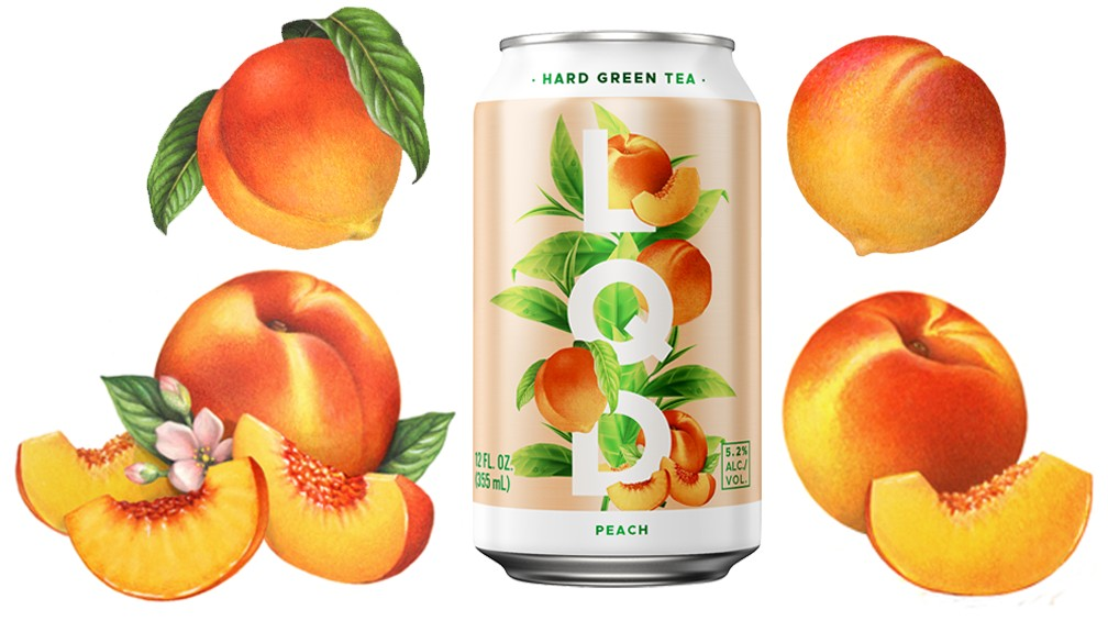 Fruit Packaging Illustrations for New LQD (Liquid) Beer Can Design for Anheuser-Busch